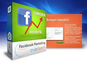 Training Facebook marketing bij everlearn