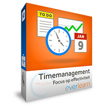 hoge resolutie afbeelding verpakking Timemanagement - Focus op effectiviteit training | everlearn