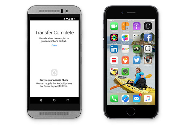 Migratie van Android naar iOS
