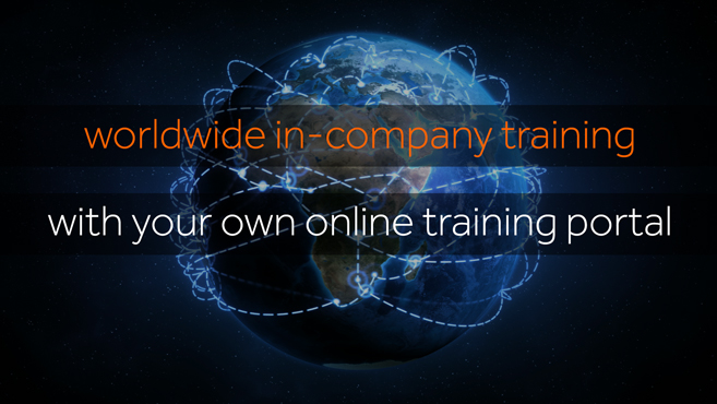 Worldwide in-company training