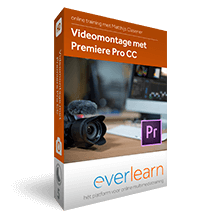 Videomontage met Premiere Pro CC | everlearn