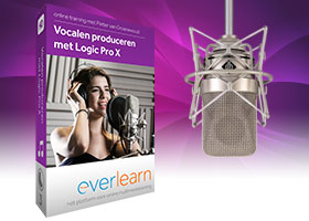 Training vocalen produceren met Logic Pro X | everlearn
