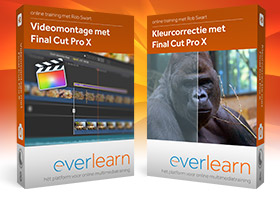 Voordeelbundel van Final Cut Pro X online trainingen | everlearn