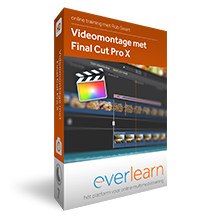 Final Cut Pro X | training videomontage 10.3 | everlearn
