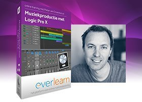 Logic Pro X - online training muziekproductie | everlearn