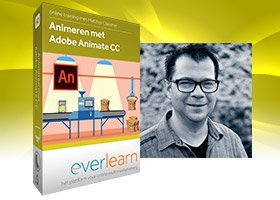 Adobe Animate CC | Cursus html5 interactieve animaties voor banners en websites | everlearn