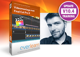 Final Cut Pro X 10.4 | cursus videomontage | everlearn