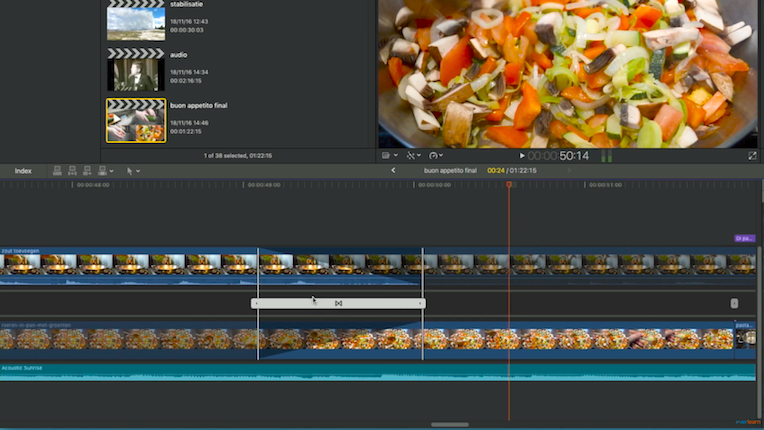Zes functies die ik mis in Final Cut Pro X | échte audio crossfades | everlearn