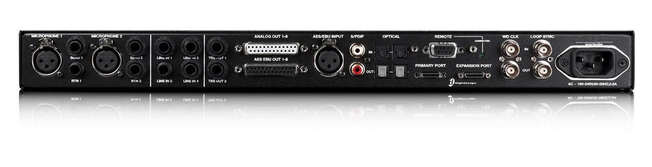 Aansluitingen van een audio-interface