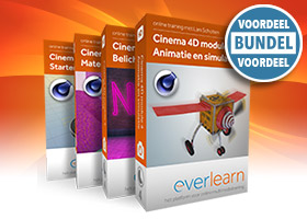 Online Cinema 4D training | Leer alles over 3D Modelleren, Materialen, Belichting en Animatie | everlearn