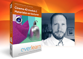 Online training Cinema 4D Materialen en texturen