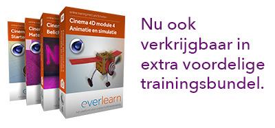 De ultieme Cinema 4D trainingsbundel