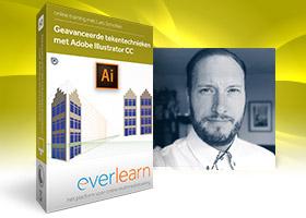 Adobe Illustrator - Online cursus Geavanceerde tekentechnieken met Adobe Illustrator CC van everlearn