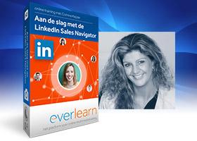 Online cursus LinkedIn Sales Navigator - Online training Aan de slag met de LinkedIn Sales Navigator voor social selling | everlearn