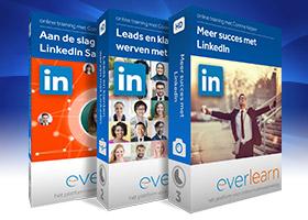 Ultieme LinkedIn trainingsbundel van everlearn met ruim 5 uur aan videolessen
