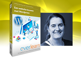 Website bouwen met Wordpress | Nederlandstalige online training van everlearn