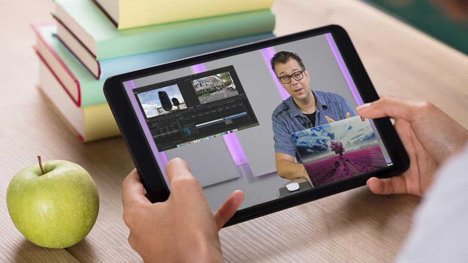 Multimedia lessen voor het onderwijs