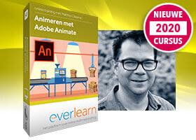 Adobe Animate 2020 | Leer interactieve animaties maken in deze online cursus van everlearn