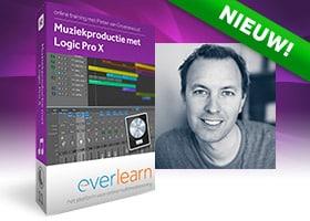 cursus Logic Pro 10.5 - Muziekproductie met Logic Pro X 10.5 van everlearn