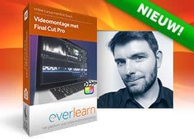 NIEUW online cursus Videomontage met Final Cut Pro 10.5 | everlearn