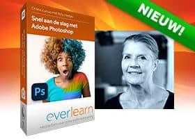 Online cursus Snel aan de slag met Photoshop van everlearn